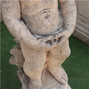 Vicenza Stone Outside Sculpture Of A Putto Italy 20th Century
