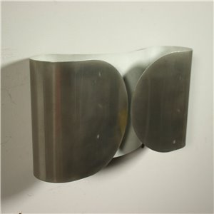 Group Of Four Sconces Tobia Scarpa For FLOS Chromed Metal 1980s