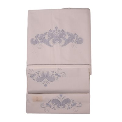 Double Bedsheets With Two Pillowcases Flax Italy 20th Century