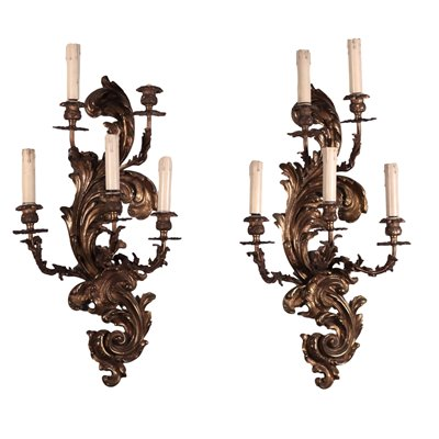 Pair of Wall Lights Italy 20th Century