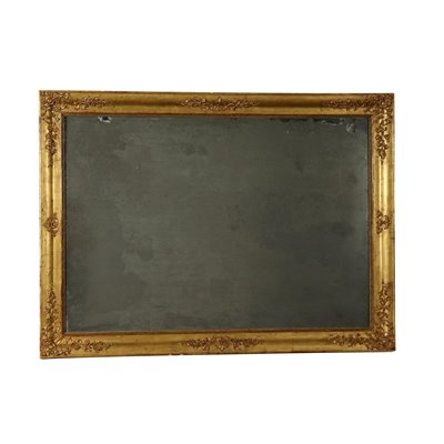 Large Gilded Mirror Italy Mid 19th Century