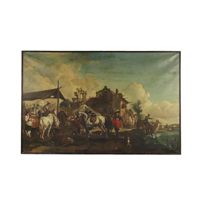 Landscape With Horses Resting