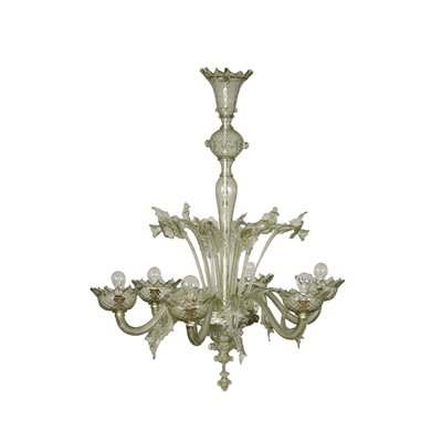 Chandelier Blown Glass Murano Italy Early 20th Century