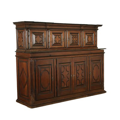 Piedmontese Baroque Cupboard With Extension Italy 17th Century