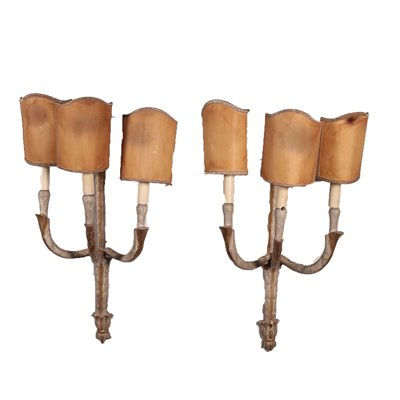 Pair of Neo Classical Wall Lights Italy 18th Century