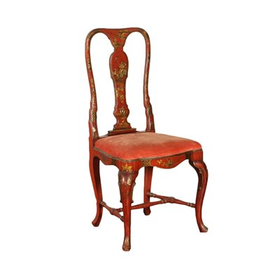 English Chair In The Style Of Chinoiserie England 19th Century