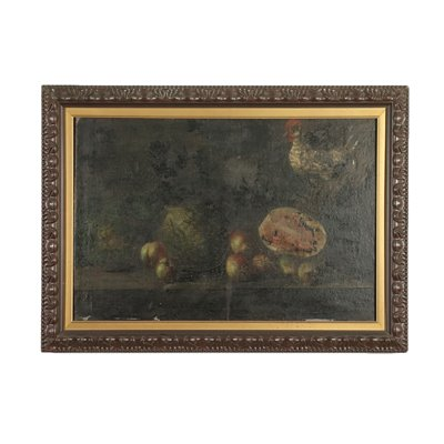 Still Life With Fruit and Hem Oil On Canvas 18th Century