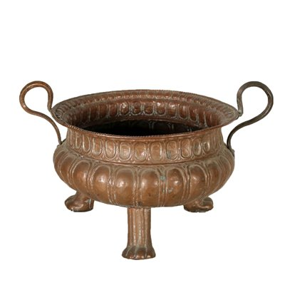 Antique Copper Charger Italy 17th Century