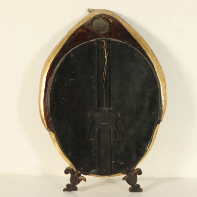 Mirror from Murano Wood Glass Italy First Half of 1900s Antiques Mirrors & Frames